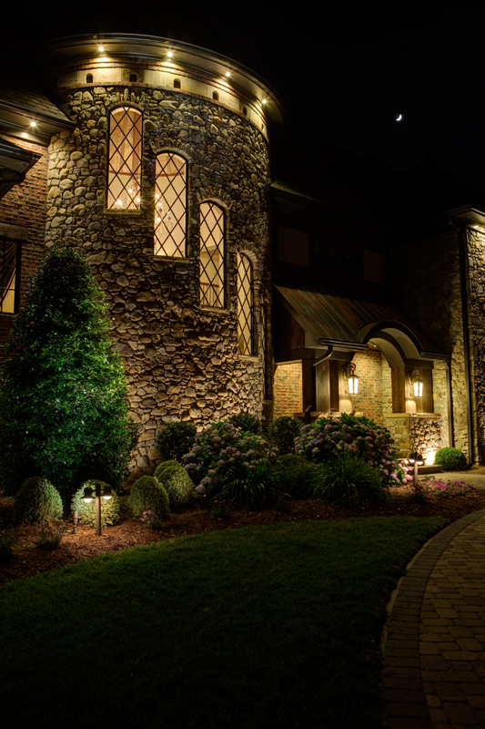 landscape lighting Charlotte